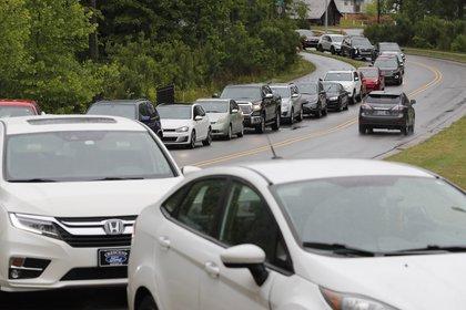 Larga espera en Apex, Carolina del Norte (AP)