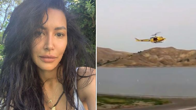Naya Rivera búsqueda suspendida helicóptero