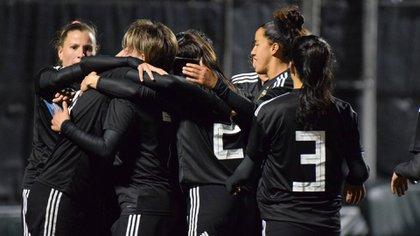 Las jugadoras de la selección femenina lograron avances y reconocimiento en los últimos meses
