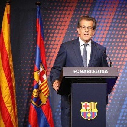 30/10/2020 El precandidato a las elecciones del FC Barcelona Toni Freixa DEPORTES TONI FREIXA