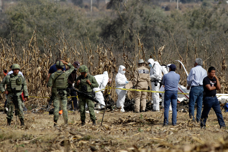 La Secretaría de Comunicaciones y Transportes concluyó las investigaciones y peritajes en torno al accidente aéreo en el que murieron Martha Erika Alonso y su esposo Rafael Moreno Valle (FOTO: MIREYA NOVO /CUARTOSCURO.COM)