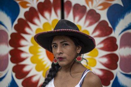 Gahela Cari no pudo postular oficialmente con su nueva identidad (AFP)