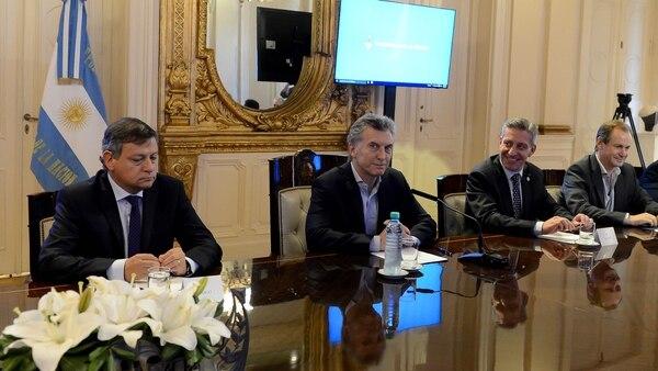 Mauricio Macri reunido con gobernadores esta semana en Casa Rosada
