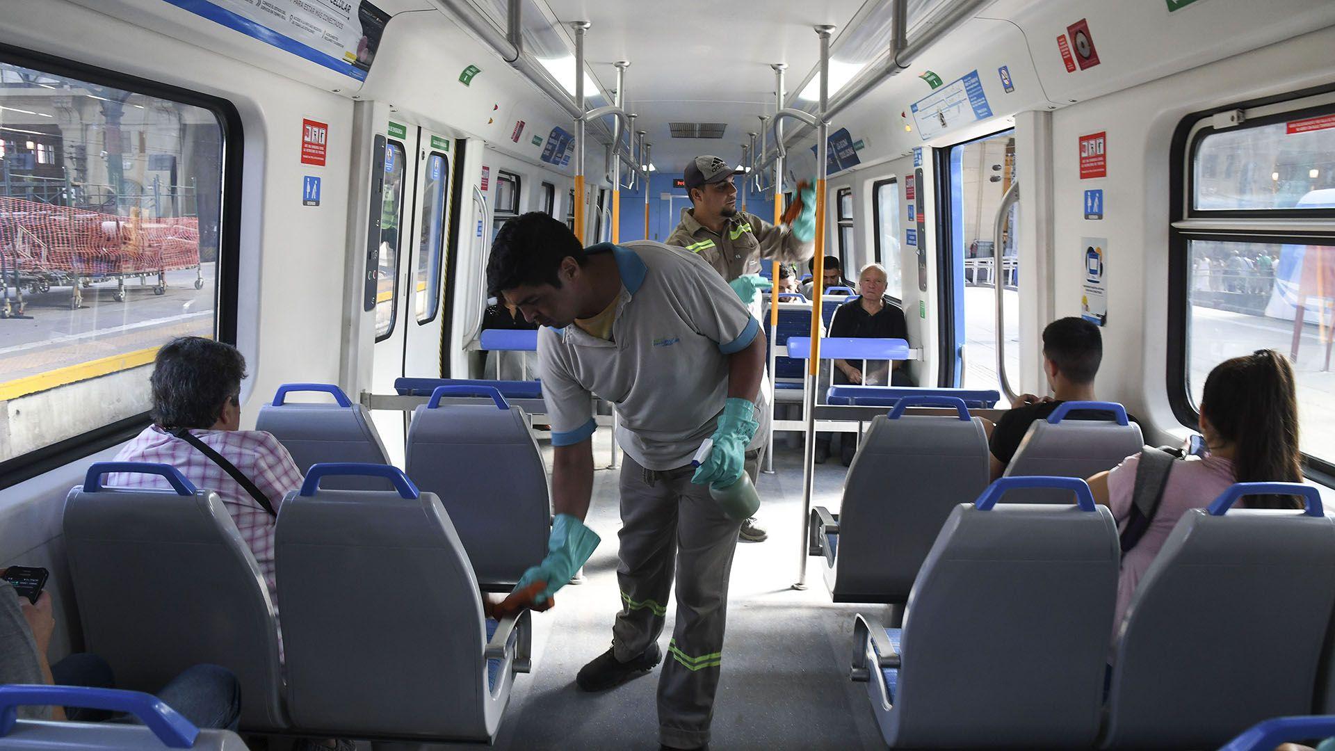 El mayor foco de infección sigue estando en el Área Metropolitana de Buenos Aires, que concentra el 81,3% de los casos. (Foto: Daniel Dabove/Télam)