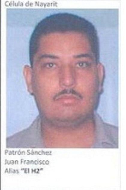 """Francisco Patrón, alias el """"H-2"""", líder de la escisión Cártel H-2, fue abatido por la Marina en 2017 (Foto: Archivo)"""