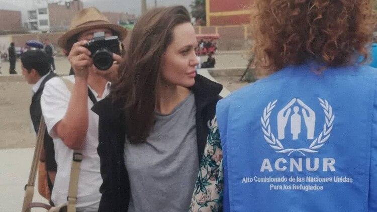 Angelina Jolie en Peru (@rosmery_steph)
