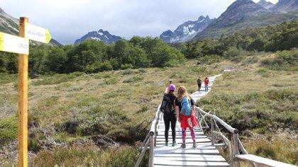 Ushuaia, otro de los lugares escogidos por el turismo de carnaval