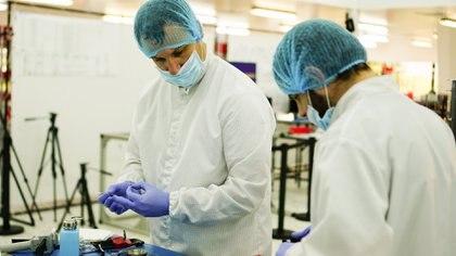 Uno de los laboratorios de la compañía