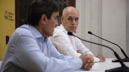 Rodríguez Larreta detalló que, hasta el momento, son 70 las personas que permanecen en cuarentena (Adrian Escandar)