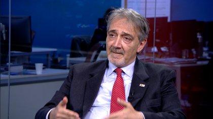 Francesco Rocca, presidente internacional de la Cruz Roja y la Media Luna Roja