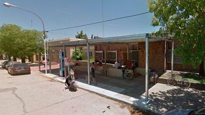 El Hospital Municipal de San Andrés de Giles, donde se lleva adelante la campaña de vacunación (Google Street View)