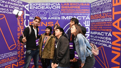 Muchos jóvenes tomaron nota de valiosos consejos de mentores (Maximiliano Luna)
