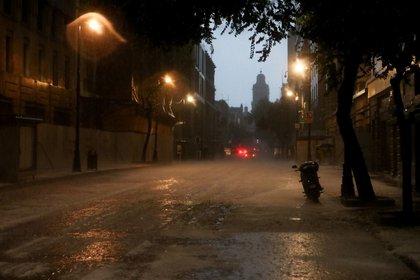 Imágenes de la granizada en Ciudad de México, el pasado 8 de junio (Foto: Graciela López/Cuartoscuro/Archivo)