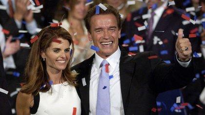Arnold Schwarzenneger estuvo casado 25 años con Maria Shiver (AP)