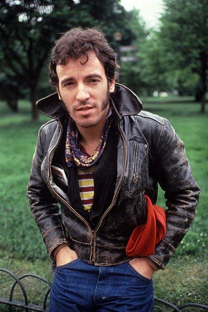 Bruce Springsteen en Hyde Park, Londres, 1982 (Shutterstock)