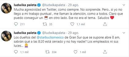 Los mensajes de Ludwika por los que fue agredida