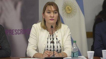 La diputada nacional Lorena Matzen