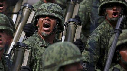 Miembros del ejército mexicano. (Reuters)