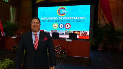 Miguel Silvadirige la Cámara de Exportadores de Venezuela y que también se desempeñó en la administración de Maduroen un cargo en el Ministerio de Vivienda