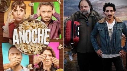 Gime Accardi y Juan Minujín en los estrenos de la semana