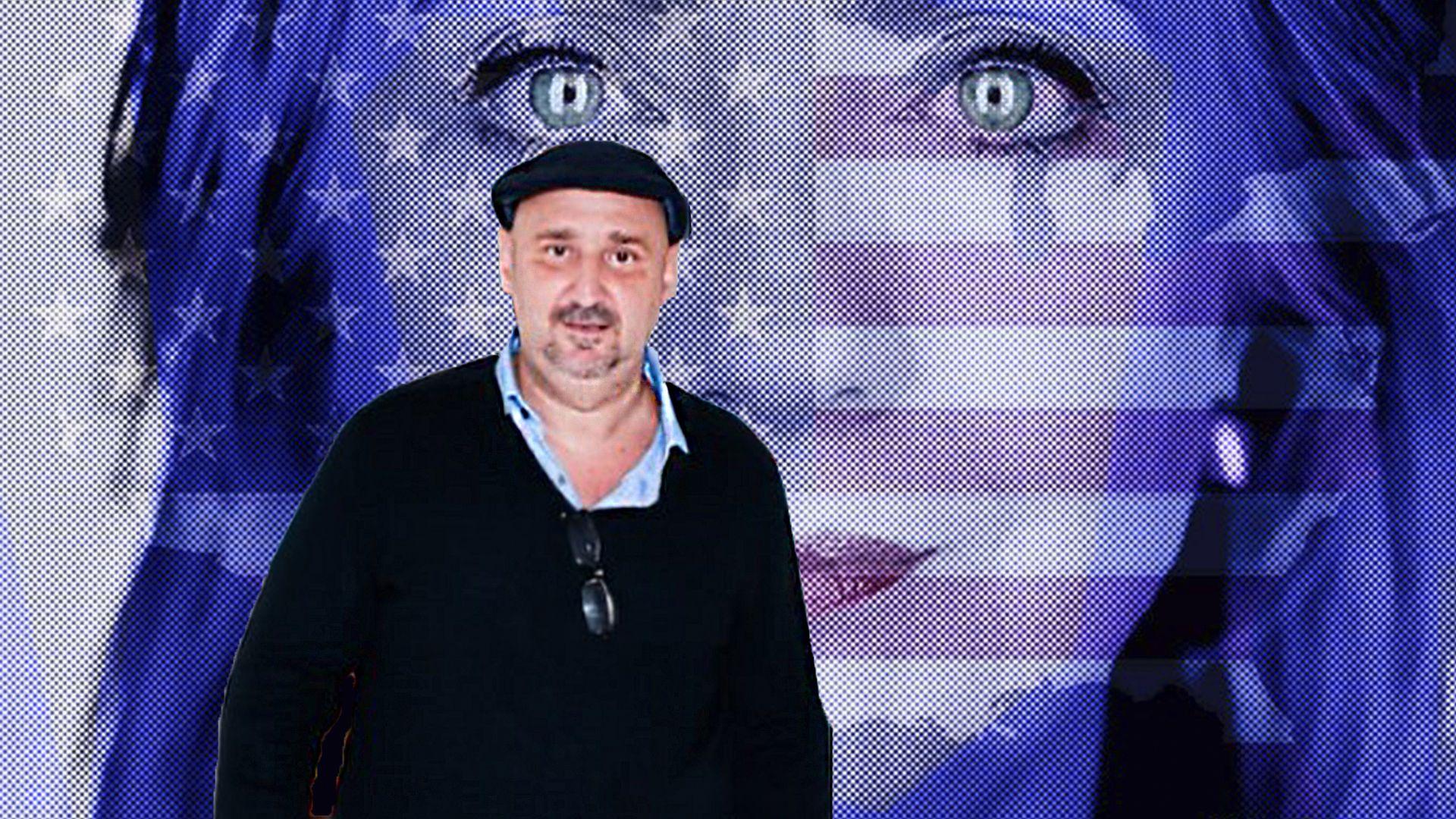 El artista plástico Alejandro Vigilante