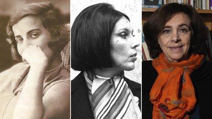 Silvina Ocampo, Sara Gallardo y Ana María Shua