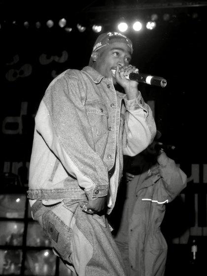Tupac Shakur (Foto: Pat Johnson/Shutterstock)