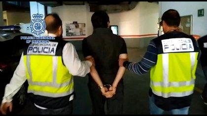 La detención de Lozoya ocurrió este miércoles en Málaga, España (Foto: AFP)