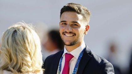 El director ejecutivo del Instituto Nacional de Juventud, Pedro Robledo