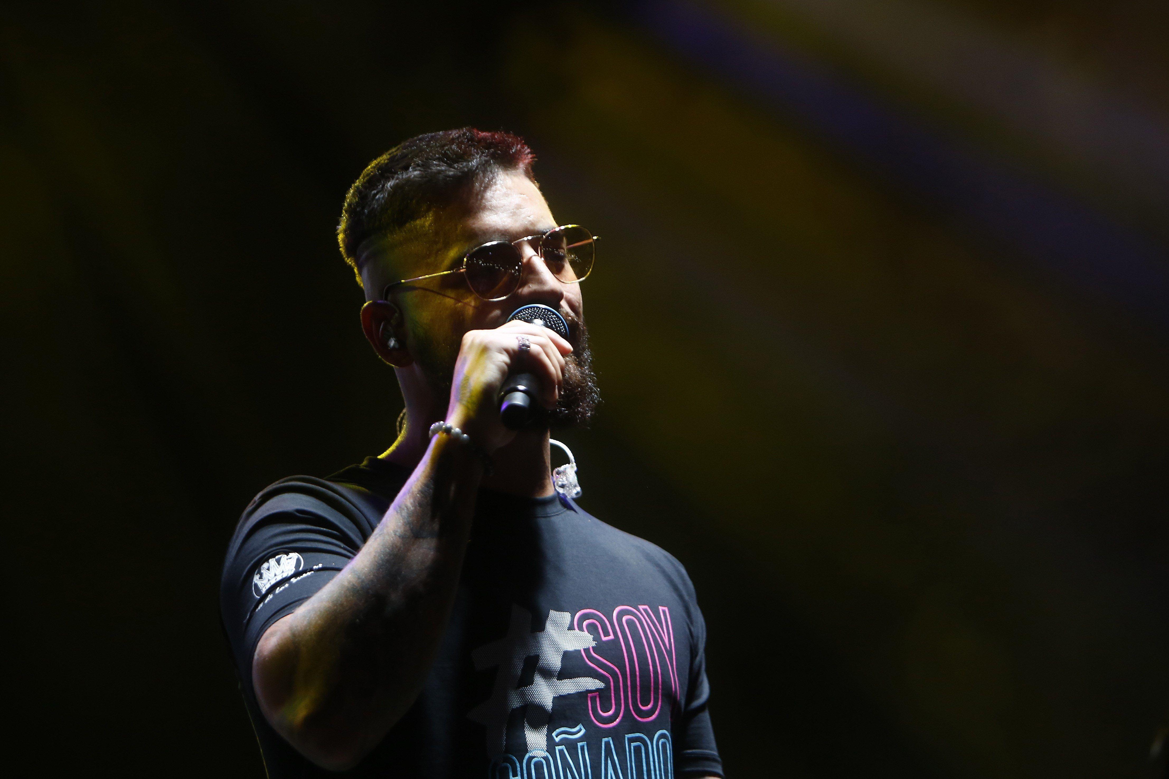 El cantante colombiano Maluma. EFE/ Luis Eduardo Noriega/Archivo