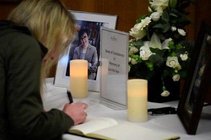 a periodista de 29 años Lyra McKee que fue asesinada a tiros en Londonderry, Irlanda del Norte, el 20 de abril de 2019. REUTERS/Clodagh Kilcoyne/Foto de archivo