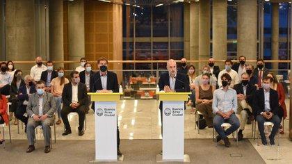 Rodríguez Larreta ratificó su rechazó a la poda de las partidas presupuestarias destinadas a la seguridad de la Ciudad de Buenos Aires