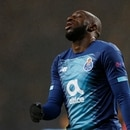 Soccer Football - Europa League - Group G - FC Porto v Feyenoord - Estadio do Dragao, Porto, Portugal - December 12, 2019 FC Porto's Moussa Marega reacts REUTERS/Rafael Marchante