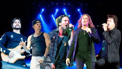 Juanes, Residente, Pearl Jam, Mana, Los Piojos
