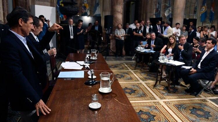 (Foto: Pablo Grinberg / Comunicación Senado)