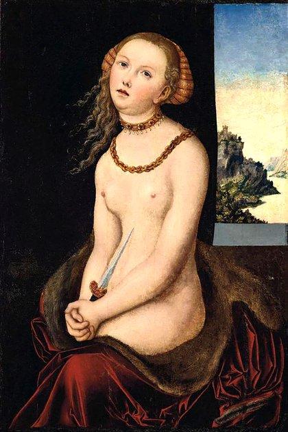 """Por """"Lucretia"""", de Cranach el viejo, esperan alcanzar los USD 1.8 millones"""