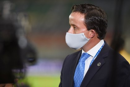 Debido al brote de COVID-19 en el partido entre Monterrey y América, la Liga cambió la logística de su protocolo de salud (Foto: Omar Martinez/ Reuters)