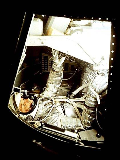 A los astronautas les resultaba increíble que una mujer pudiera querer ir al espacio (NASA)