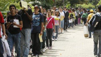 Desempleo en Colombia. Imagen de referencia.