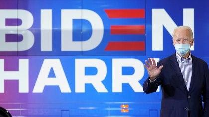 El candidato presidencial demócrata, Joe Biden. REUTERS/Kevin Lamarque