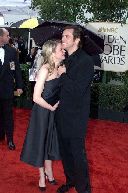 Jim Carrey y Renée Zellweger (Shutterstock)