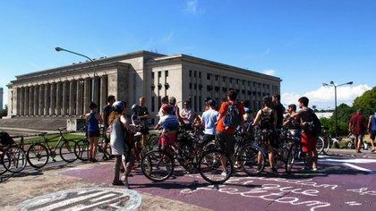 Open Bici, uno de los eventos paralelos de Open House Buenos Aires