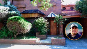 Los secretos de la icónica casa que dividió al clan Maradona: un tesoro que se perdió en el fuego, la virgen ausente y la mesa de una cena histórica