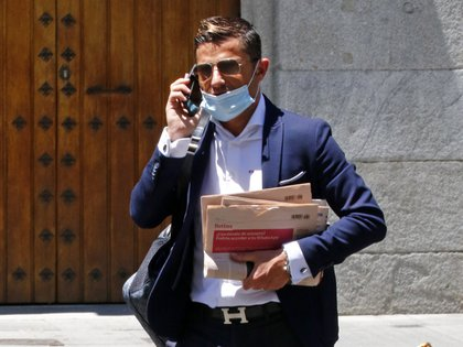 29/06/2020 Alfonso Merlos during a day of efforts by the Spanish capital wearing his unmistakable style EUROPE SPAIN SOCIETY