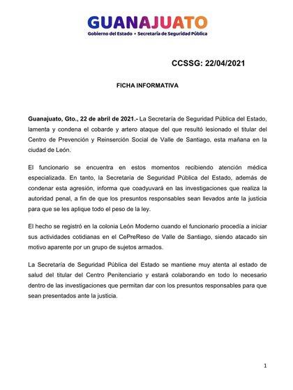 (Foto: Twitter/SeguridadGto)