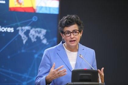 21/10/2020 La ministre des Affaires étrangères, de l'Union européenne et de la coopération, Arancha González Laya POLITICA Marta Fernández - Europa Press