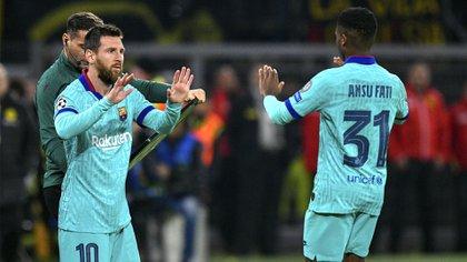 Ansu Fati tendrá una ficha de primer equipo la temporada que viene  (AFP)