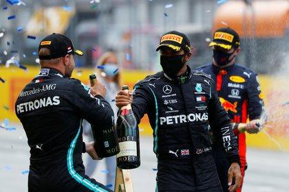 Fórmula 1: en una carrera para el olvido de Ferrari, Lewis Hamilton ganó el  GP de Estiria - Infobae