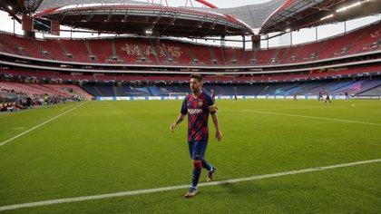 Lionel Messi podría recalar en el Manchester City con Guardiola - REUTERS