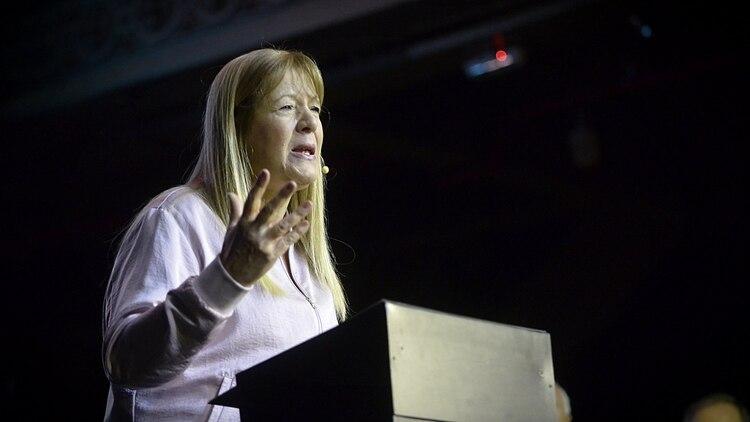 La líder del GEN, Margarita Stolbizer, está alejada del núcleo de Consenso Federal (Gustavo Gavotti)